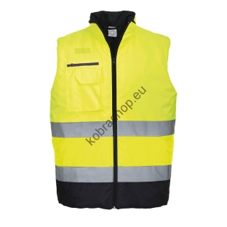 Reflexná vesta S267 Hi-Vis Two Tone Yellow/Navy
