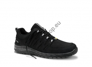 MADDOX BLACK LEATHER LOW ESD O2