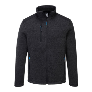 T830 - KX3 Performance fleece Tmavo sivá