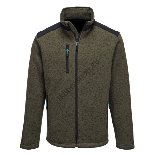 T830 - KX3 Performance fleece Olivovo zelená